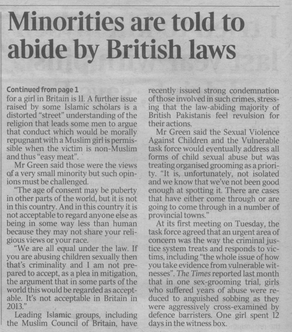 The Times 6 June 2013 P6