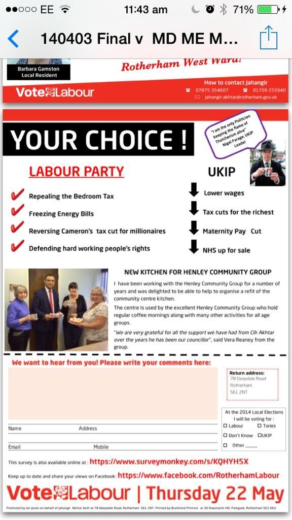 Akhtar leaflet