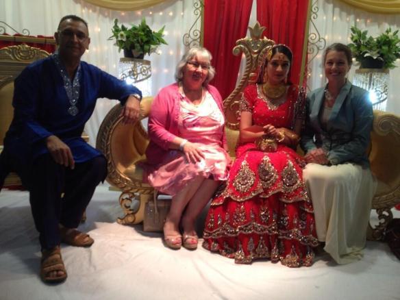 JA  Daughters wedding