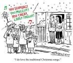 christmas card for Denis McShane