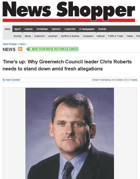 Cllr Chris Roberts