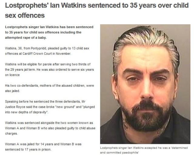 Ian Watkins 2013-12-18