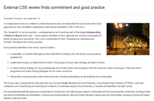 RMBC CSE Response 2013-12-13