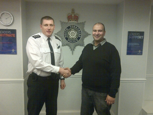 Chief Inspector Rich Butterworth & Sajid Bostan