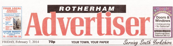 Advertiser masthead 7th Feb 2014