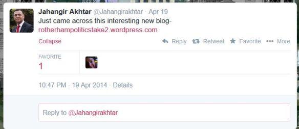 Jahangir Akhtar Tweet 03_05_2014