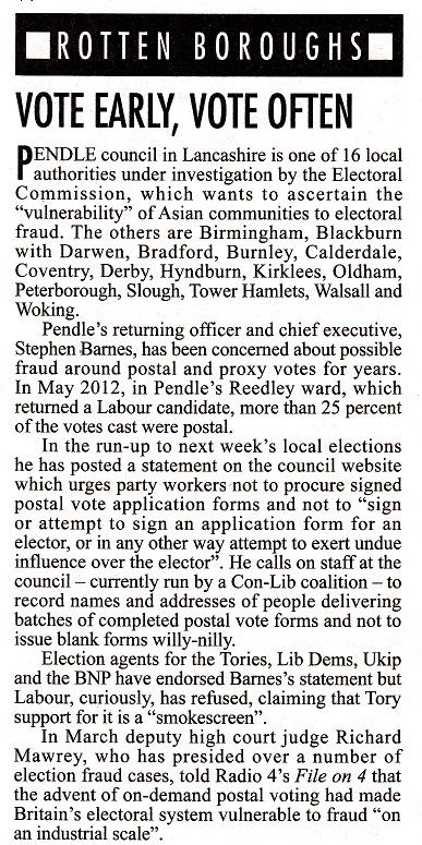 Borough Council Elections 2014