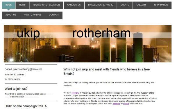 UKIP Rotherham Online 07_06_2014