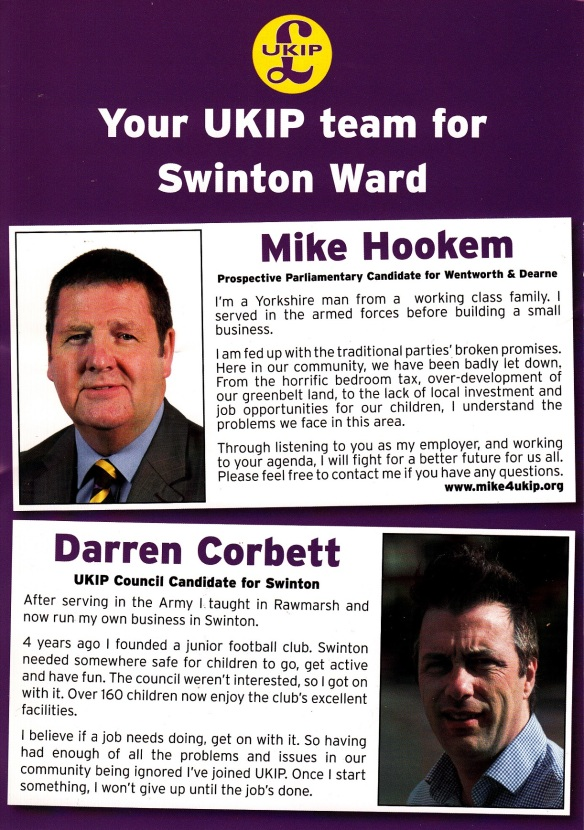 UKIP Swinton 24 Marr 2015