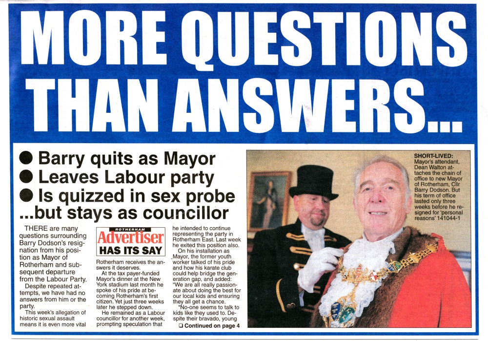 The Ex-Mayor Barry Dodson (4/6)
