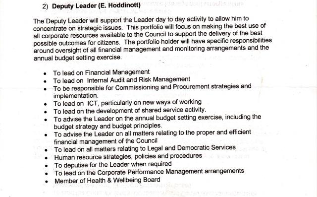 Cabinet 15 Oct 2014 - Emma Hoddinott