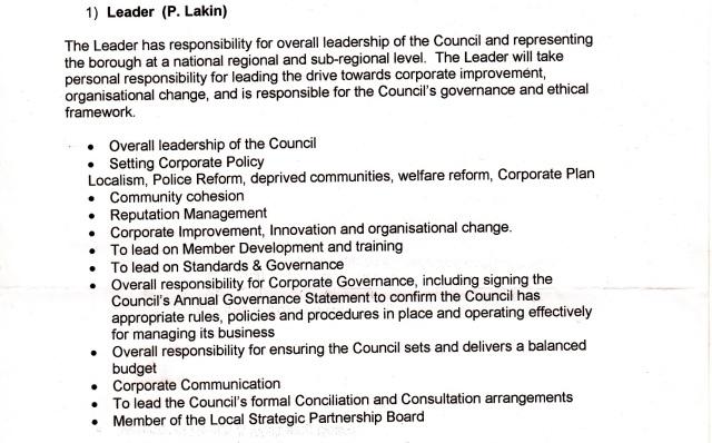 Cabinet 15 Oct 2014 - Paul Lakin