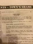 Towns Shame