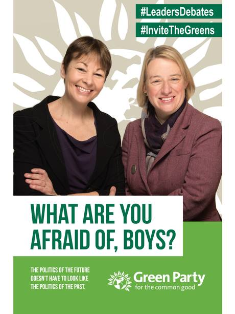 green-party-poster