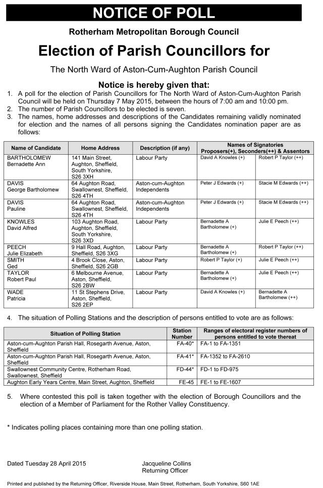 Notice_of_Poll___The_North_Ward_of_Aston_cum_Aughton_Parish_Council