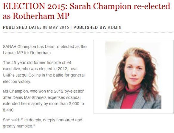 Sarah Champion Adv- 09_05_2015
