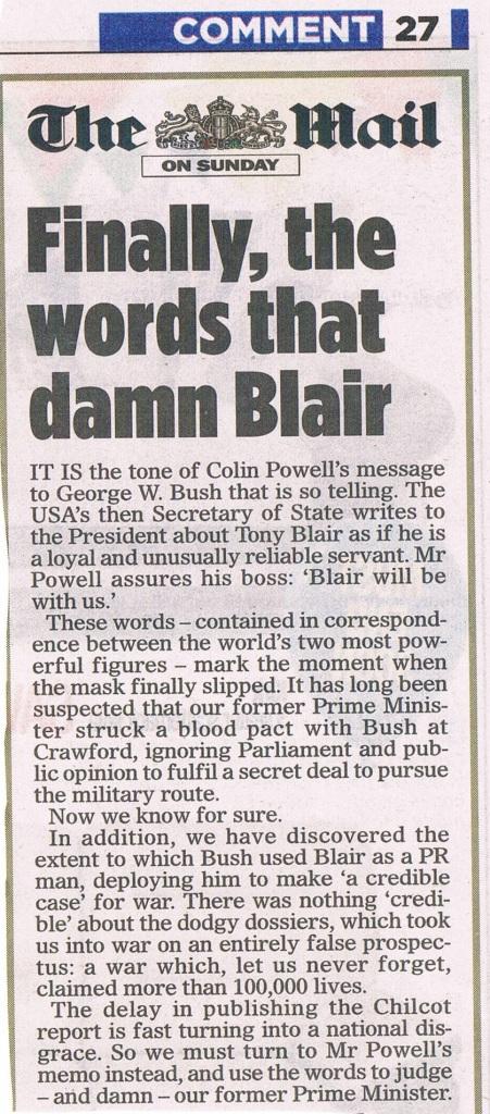 Mail Comment Blair