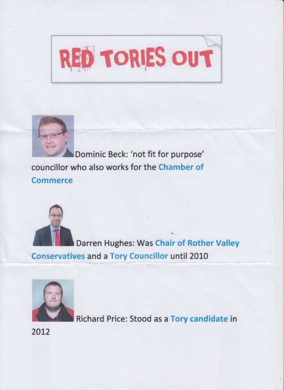 Red Tories Out