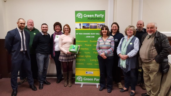 Members of the Newly Formed Rotherham Green Party