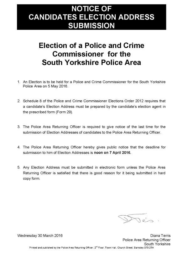 notice-of-candidates-election-address-pcc-2016