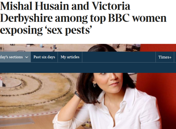 Screenshot-2017-10-29 Mishal Husain and Victoria Derbyshire among top BBC women exposing 'sex pests_