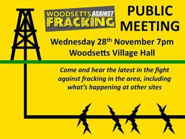 News From Woodsetts Against Fracking Rotherham Politics